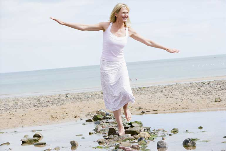 Hormonal Balance Woman